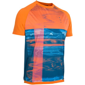 ION Traze AMP Kurzarm-Shirt Herren riot orange